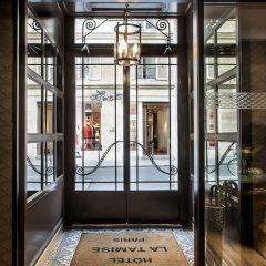 Отель Hôtel de La Tamise Франция, Париж - отзывы, цены и фото номеров - забронировать отель Hôtel de La Tamise онлайн интерьер отеля фото 3