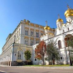 Отель Apartlux On Chertanova Москва вид на фасад