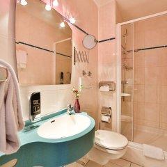 Отель Superior Hotel Präsident Германия, Мюнхен - 8 отзывов об отеле, цены и фото номеров - забронировать отель Superior Hotel Präsident онлайн ванная