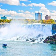 Отель Sheraton at the Falls США, Ниагара-Фолс - отзывы, цены и фото номеров - забронировать отель Sheraton at the Falls онлайн приотельная территория