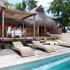 Отель Tikehau Pearl Beach Resort бассейн