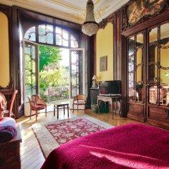 Апартаменты Luxury apartment - garden access Monceau комната для гостей фото 5