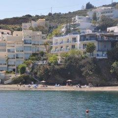 Отель Sofia Mythos Beach Aparthotel Греция, Милопотамос - 1 отзыв об отеле, цены и фото номеров - забронировать отель Sofia Mythos Beach Aparthotel онлайн пляж