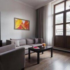 Апартаменты Gorky Gorod Apartments Красная Поляна комната для гостей