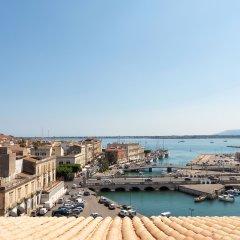 Отель Ortea Palace Luxury Hotel Италия, Сиракуза - отзывы, цены и фото номеров - забронировать отель Ortea Palace Luxury Hotel онлайн пляж фото 2