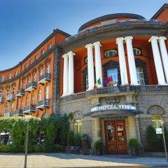 Отель Grand Hotel Yerevan Армения, Ереван - 4 отзыва об отеле, цены и фото номеров - забронировать отель Grand Hotel Yerevan онлайн вид на фасад