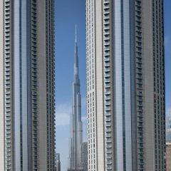 Movenpick Hotel Apartments Downtown Dubai Дубай вид на фасад