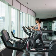 Отель Millennium Hilton Bangkok Бангкок фитнесс-зал фото 2