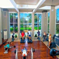 Отель Club Phaselis фитнесс-зал фото 3