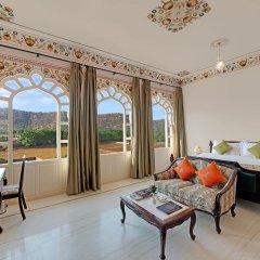 Отель The Jaibagh Palace комната для гостей фото 2
