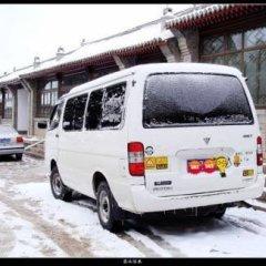 Отель Badaling Tieguowang Inn Beijing парковка