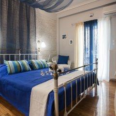 Апартаменты Gold and Blue Luxurious Apartment комната для гостей фото 5