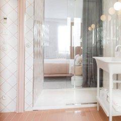 Отель Le Lapin Blanc Париж ванная