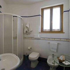 Отель Albergo Villa Cristina Сполето ванная