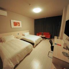 Отель Jinjiang Inn Xi'an Jianguomen Китай, Сиань - отзывы, цены и фото номеров - забронировать отель Jinjiang Inn Xi'an Jianguomen онлайн комната для гостей