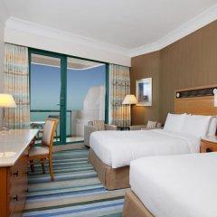 Отель Hilton Dubai Jumeirah 5* Стандартный номер с различными типами кроватей фото 12