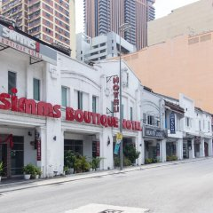 Simms Boutique Hotel Bukit Bintang парковка