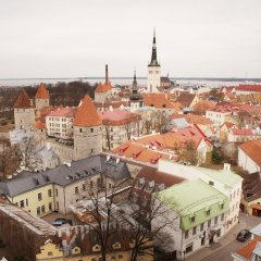 Апартаменты Tallinn City Apartments Toompea Old Town городской автобус