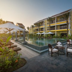 Отель La Siesta Hoi An Resort & Spa бассейн