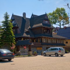 Отель Jastrzębia Turnia парковка