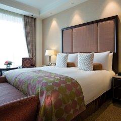 Лотте Отель Москва 5* Улучшенный номер разные типы кроватей фото 3