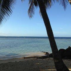 Отель Tamanu Французская Полинезия, Папеэте - отзывы, цены и фото номеров - забронировать отель Tamanu онлайн пляж фото 2