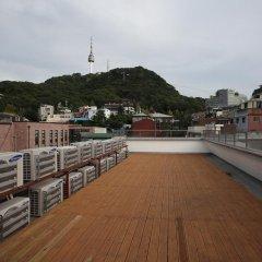 Отель Namsan Guesthouse балкон