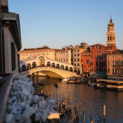 Отель Riva del Vin Boutique Hotel Италия, Венеция - отзывы, цены и фото номеров - забронировать отель Riva del Vin Boutique Hotel онлайн балкон