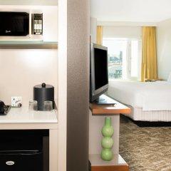 Отель SpringHill Suites Las Vegas Convention Center удобства в номере фото 2