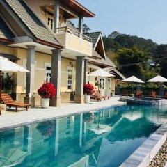 Отель Zen Valley Dalat Далат бассейн
