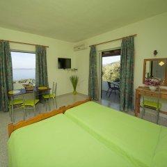 Апартаменты Crystal Blue Apartments Корфу комната для гостей фото 3