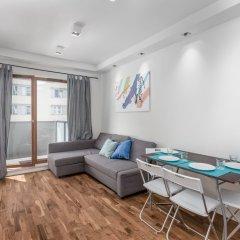 Апартаменты Chill Apartments Mokotow Center комната для гостей фото 3