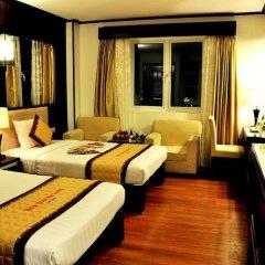 Muong Thanh Three Star Hotel Халонг комната для гостей фото 5
