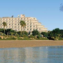 Отель Vrissiana Beach Hotel Кипр, Протарас - 1 отзыв об отеле, цены и фото номеров - забронировать отель Vrissiana Beach Hotel онлайн пляж фото 5