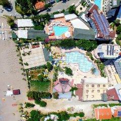 Meridia Beach Hotel Турция, Окурджалар - отзывы, цены и фото номеров - забронировать отель Meridia Beach Hotel онлайн бассейн
