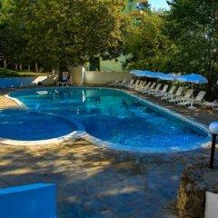 Отель Vezhen Hotel Болгария, Золотые пески - отзывы, цены и фото номеров - забронировать отель Vezhen Hotel онлайн бассейн фото 2