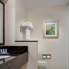 Отель Fairfield Inn & Suites by Marriott Columbus Dublin ванная