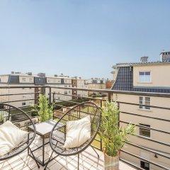 Отель Apartament Parkur Komfort Сопот балкон