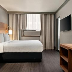 Отель Days Inn - Vancouver Downtown Канада, Ванкувер - отзывы, цены и фото номеров - забронировать отель Days Inn - Vancouver Downtown онлайн комната для гостей фото 5