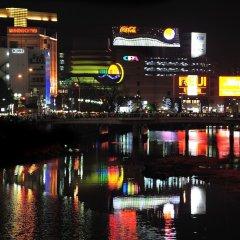 Отель Eclair Hakata Фукуока приотельная территория фото 2