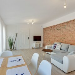 Апартаменты Lion Apartments - La Playa Сопот комната для гостей фото 5