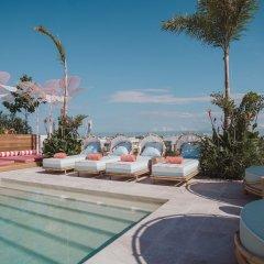 Отель Calixta Hotel Мексика, Плая-дель-Кармен - отзывы, цены и фото номеров - забронировать отель Calixta Hotel онлайн бассейн фото 3