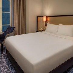 Отель Hilton London Euston 4* Стандартный семейный номер с двуспальной кроватью фото 3