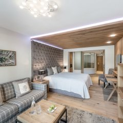 Отель Das Central – Alpine . Luxury . Life комната для гостей фото 7