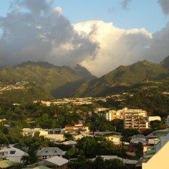 Отель Fare Arearea Sweet Studio Французская Полинезия, Папеэте - отзывы, цены и фото номеров - забронировать отель Fare Arearea Sweet Studio онлайн балкон