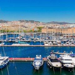 Отель H10 Port Vell Барселона приотельная территория