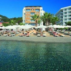 Cettia Beach Resort Турция, Мармарис - отзывы, цены и фото номеров - забронировать отель Cettia Beach Resort онлайн пляж