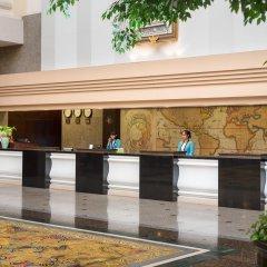 Twin Towers Hotel интерьер отеля