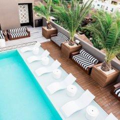 Отель Marquee Playa Hotel Мексика, Плая-дель-Кармен - отзывы, цены и фото номеров - забронировать отель Marquee Playa Hotel онлайн бассейн фото 2