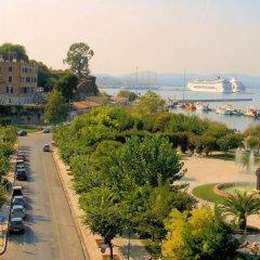 Отель Konstantinoupolis Hotel Греция, Корфу - отзывы, цены и фото номеров - забронировать отель Konstantinoupolis Hotel онлайн пляж фото 2